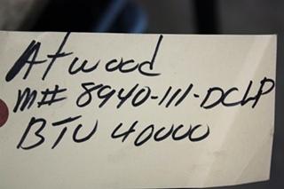 USED MOTORHOME 8940-III-DCLP 40,000 BTU ATWOOD FURNACE FOR SALE