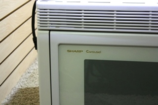 USED RV SHARP CAROUSEL CONVECTION MICROWAVE R-1851A FOR SALE