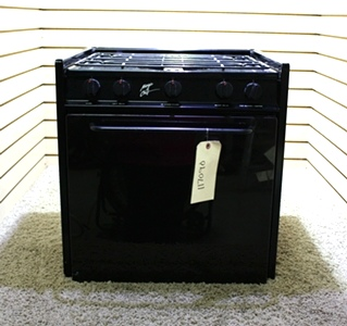 USED MAGIC CHEF 22RB-3BKZ 3 BURNER OVEN RV APPLIANCES FOR SALE