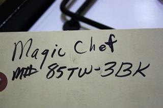 USED MOTORHOME 85TW-3BK MAGIC CHEF 3 BURNER COOK TOP FOR SALE