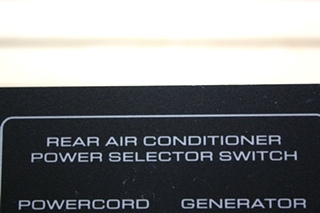USED RV REAR AIR CONDITIONER POWER SELECTOR SWITCH FOR SALE
