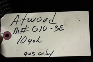 USED ATWOOD 10 GALLON G10-3E RV WATER HEATER FOR SALE