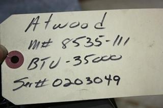 USED 35,000 BTU 8535-III ATWOOD RV FURNACE FOR SALE
