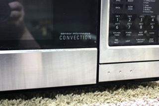 USED MOTORHOME STAINLESS SHARP MICROWAVE CONVECTION R-1874-T FOR SALE