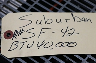 USED RV SUBURBAN SF-42 FURNACE FOR SALE