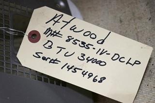 USED ATWOOD 8535-IV-DCLP 34,000 BTU MOTORHOME FURNACE FOR SALE