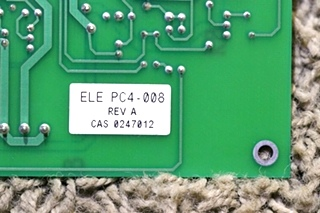 USED MOTORHOME VEHICLE SYSTEMS HYDRO-HOT CONTROLLER ELE-PC4-008 FOR SALE