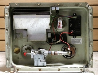 ATWOOD 6 GALLON G6A-8E USED MOTORHOME WATER HEATER FOR SALE