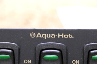 USED RV AQUA-HOT 3 SWITCH PANEL MOTORHOME PARTS FOR SALE