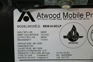 ATWOOD 8535-IV-DCLP USED RV FURNACE FOR SALE