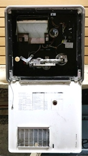 GE16 EXT ATWOOD USED RV 10 GALLON WATER HEATER FOR SALE