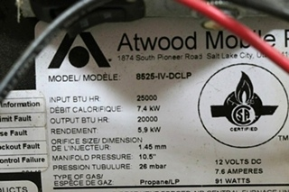8525-IV-DCLP ATWOOD USED RV 25000 BTU FURNACE FOR SALE