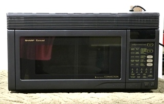 USED R-1850A SHARP CAROUSEL MICROWAVE CONVECTION OVEN RV PARTS FOR SALE