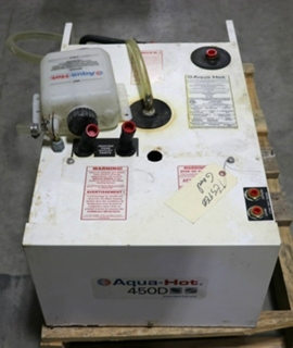 USED AHE-450-DE4 RV AQUA-HOT 450D HYDRONIC HEATING SYSTEM FOR SALE