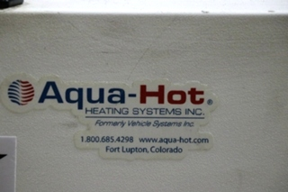 AQUA-HOT 450-DE AHE-450-DE1 USED RV HYDRONIC HEATING SYSTEM FOR SALE