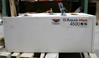 USED AQUA-HOT 450D RV HEATING SYSTEM AHE-450-DE4 FOR SALE
