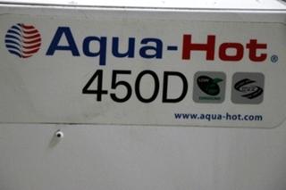 USED AQUA-HOT 450D RV HEATING SYSTEM AHE-450-DE4 FOR SALE