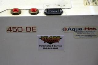 USED HYDRONIC HEATING SYSTEMS MOTORHOME AHE-450-DE1 AQUA-HOT 450-DE FOR SALE